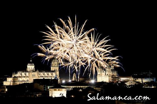 Fuegos artificiales... Salamanca de fiestas 2018 (I)