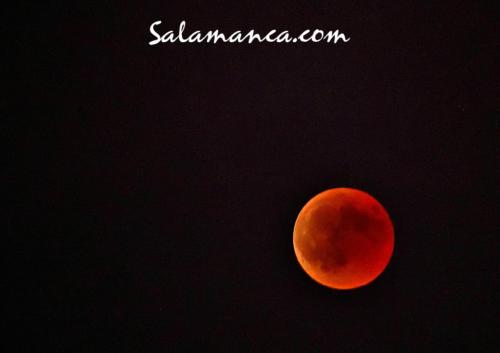 Eclipse de luna... Luna de Sangre
