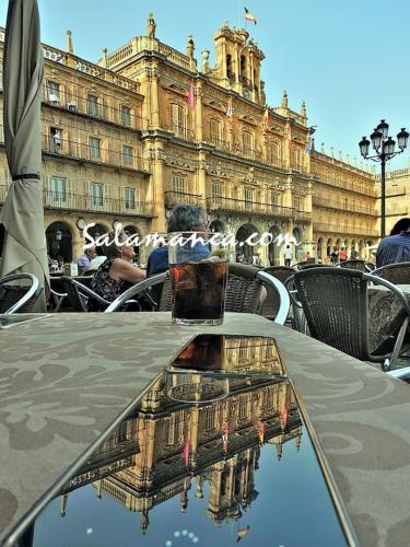 Salamanca y móviles que hacen fotos