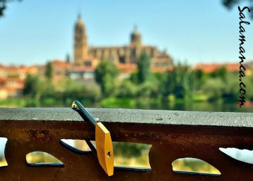 Nosotros, enamorados de Salamanca