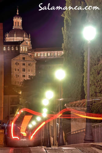 Salamanca, luces de ciudad