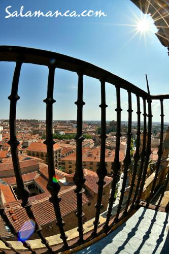 Salamanca, al sol de Scala Coeli