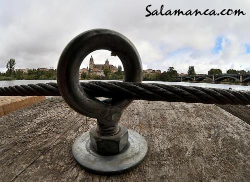 Salamanca, siempre en el ojo... Aunque no sea del huracán Leslie.
