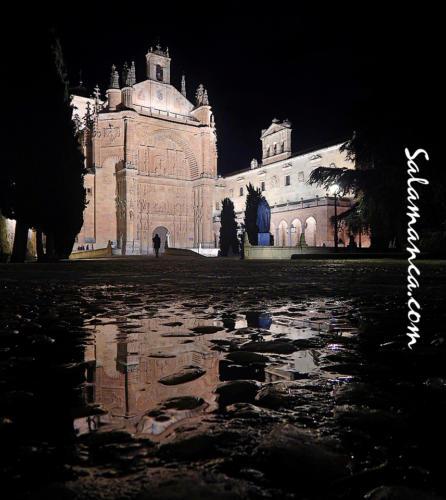 Salamanca, primeras lluvias, primeros charcos