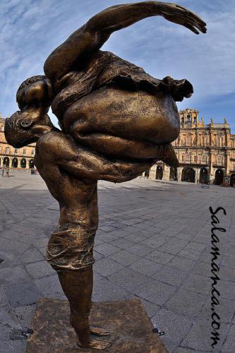 Xu Hongfei en Salamanca