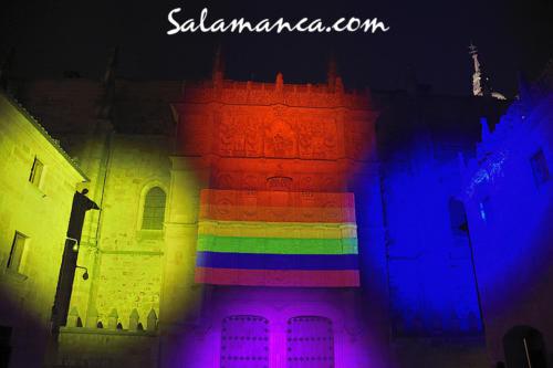 Salamanca se ilumina con Orgullo