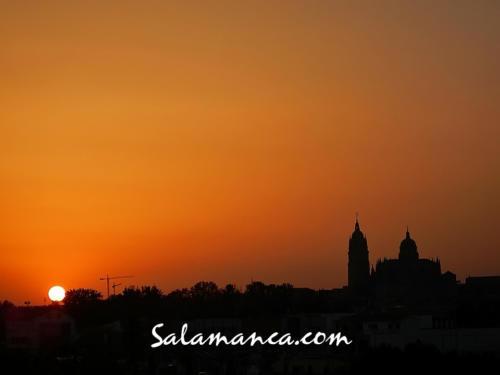 Salamanca, así de tarde