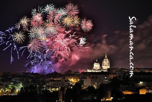 Ferias y Fiestas de Salamanca 2019... Fuegos artificiales