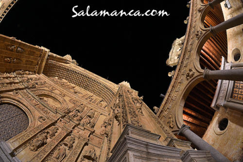 Salamanca, a los pies de San Esteban
