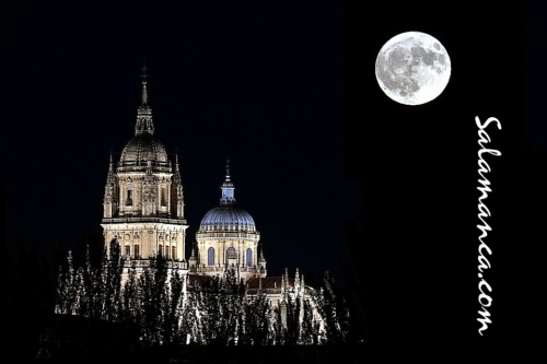 Salamanca, se quiso escapar pero al final apareció la Luna