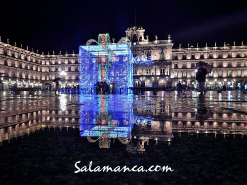 Feliz Navidad... Salamanca desde su Plaza Mayor