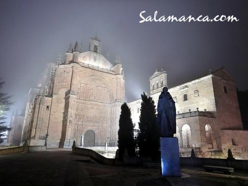 Salamanca y San Esteban, noches de niebla