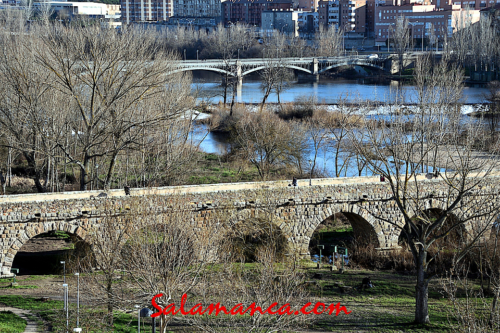 Salamanca... Y el Tormes entre puentes