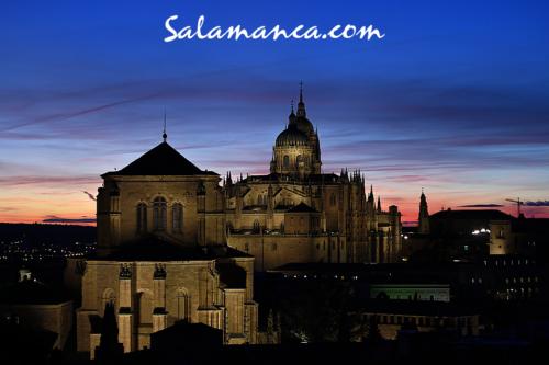 Salamanca, un atardecer de colores