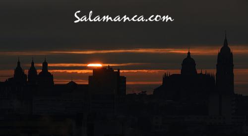 Salamanca, rojos amaneceres