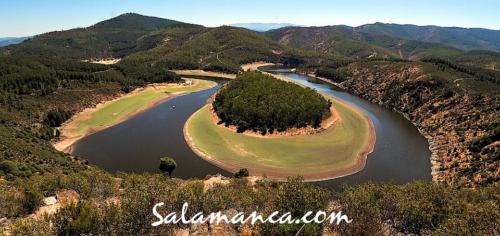 Salamanca, y el río Alagón discurriendo por el verano del sur provincial (y II)