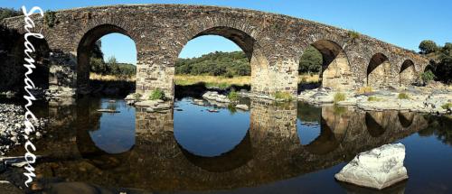Salamanca, y el río Alagón discurriendo por el verano del sur provincial (I)