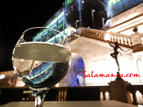 Salamanca, colores y luces de cristal... Casa Lis