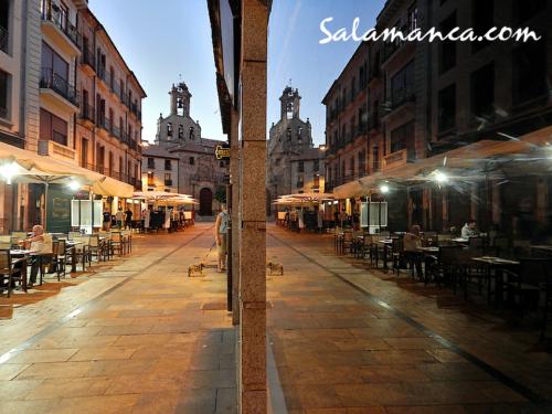 """Rúa... Salamanca en la """"nueva normalidad"""""""