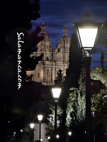 Iluminando la calle del Rosario