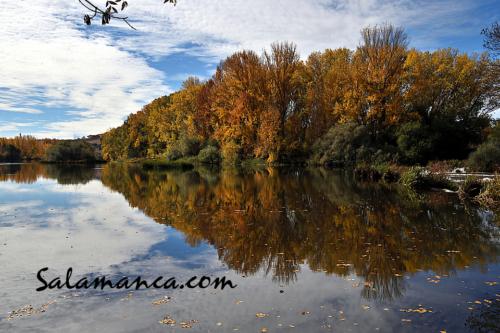 Salamanca, Tormes y otoño