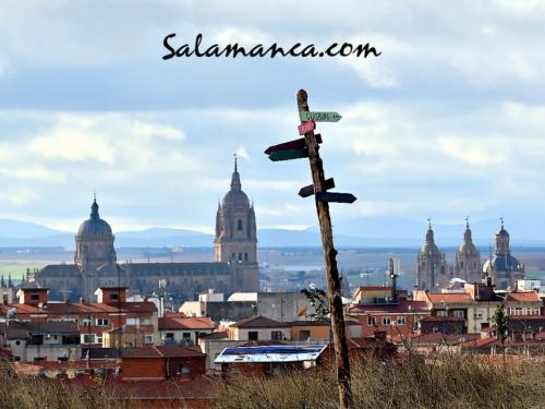 Salamanca, puntos cardinales