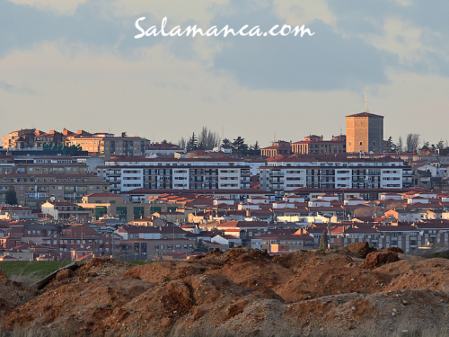Otros caminos, otros tejados, otras torres... Salamanca