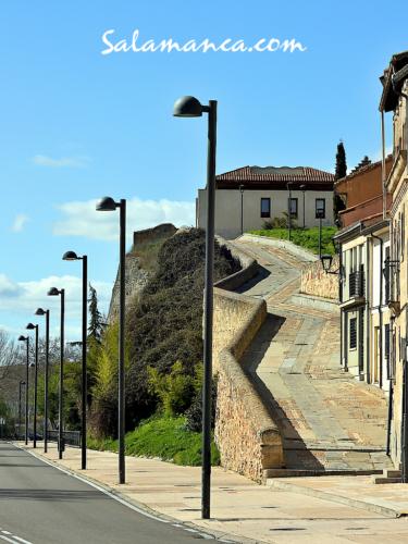 Salamanca, camino de la Peña Celestina