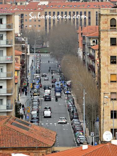 Calles de Salamanca... Filiberto Villalobos