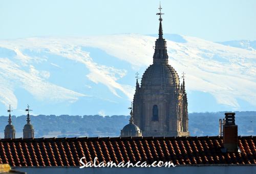 Nieve... y Salamanca por los tejados