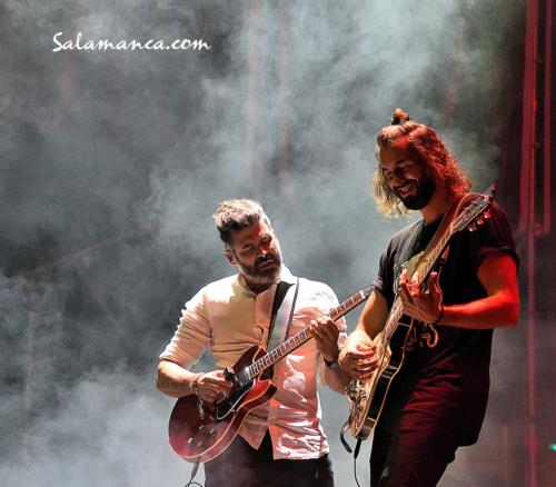 Ferias y Fiestas 2021... Izal regresó a Salamanca (I)