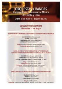 Orquestas y bandas, CAEM, Salamanca