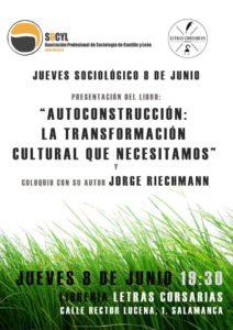 Jueves Sociológicos, Letras Corsarias, Salamanca