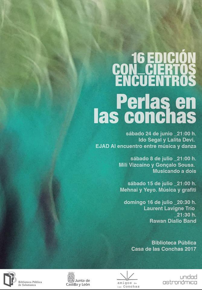 XVI Con_Ciertos Encuentros, Casa de las Conchas, Salamanca