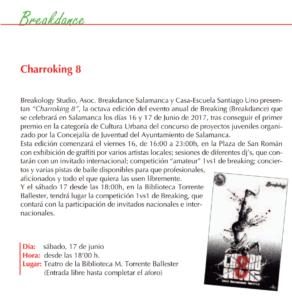 Charroking 8, Salamanca