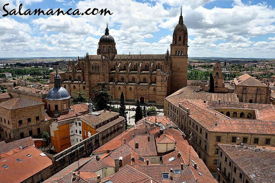 Torres de la Clerecía Scala Coeli, Salamanca.