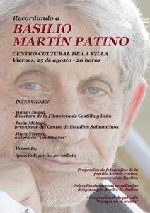 Recordando a Basilio Martín Patino, 2017