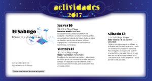 El Sahugo, Noches de Cultura 2017