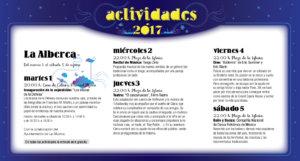 La Alberca, Noches de Cultura 2017