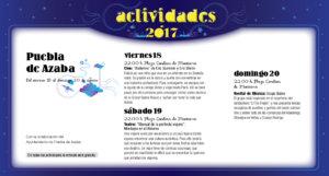 Puebla de Azaba, Noches de Cultura 2017