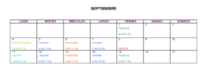 Septiembre 2017, Salamanca