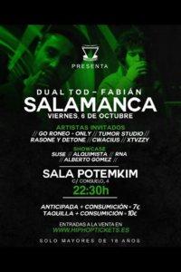 Dual Tod - Fabián + Invitados Potemkim Salamanca Octubre 2017