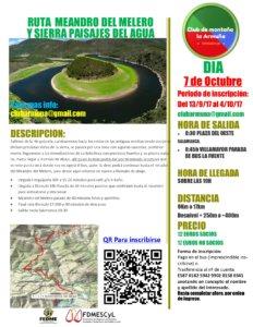 Ruta Meandro Melero y Sierra Paisajes del Agua La Armuña Octubre 2017