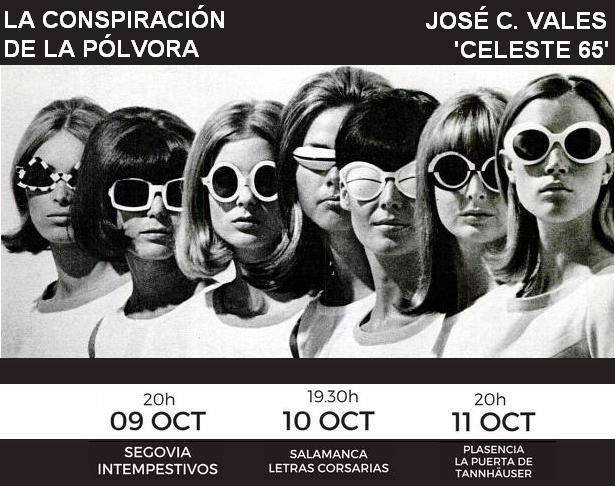 José C. Vales Celeste 65 Letras Corsarias Salamanca Octubre 2017