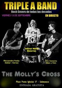Triple a Band The Molly's Cross Salamanca Octubre 2017