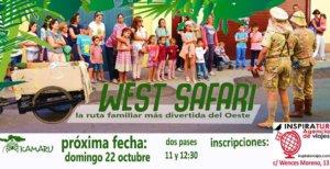 Kamaru Teatro West Safari Salamanca Octubre 2017