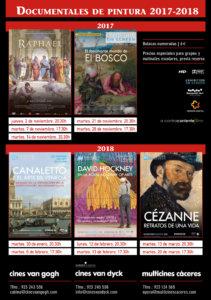 Documentales de Pintura 2017-2018 Cines Van Dyck Salamanca