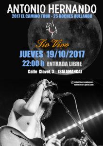 Antonio Hernando Tío Vivo Salamanca Octubre 2017