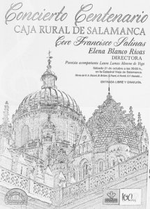 Coro Francisco Salinas Caja Rural de Salamanca Octubre 2017