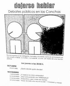 Dejarse hablar octubre y noviembre de 2017 Casa de las Conchas